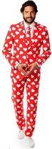 OppoSuits Mr. Lover Lover - Heren Pak - Valentijnsdag - Rood - Maat EU 62
