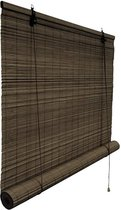 Victoria M. Rolgordijn bamboe 150 x 160 cm in de kleur naturel, privacy privacybescherming Rolgordijn voor ramen en deuren
