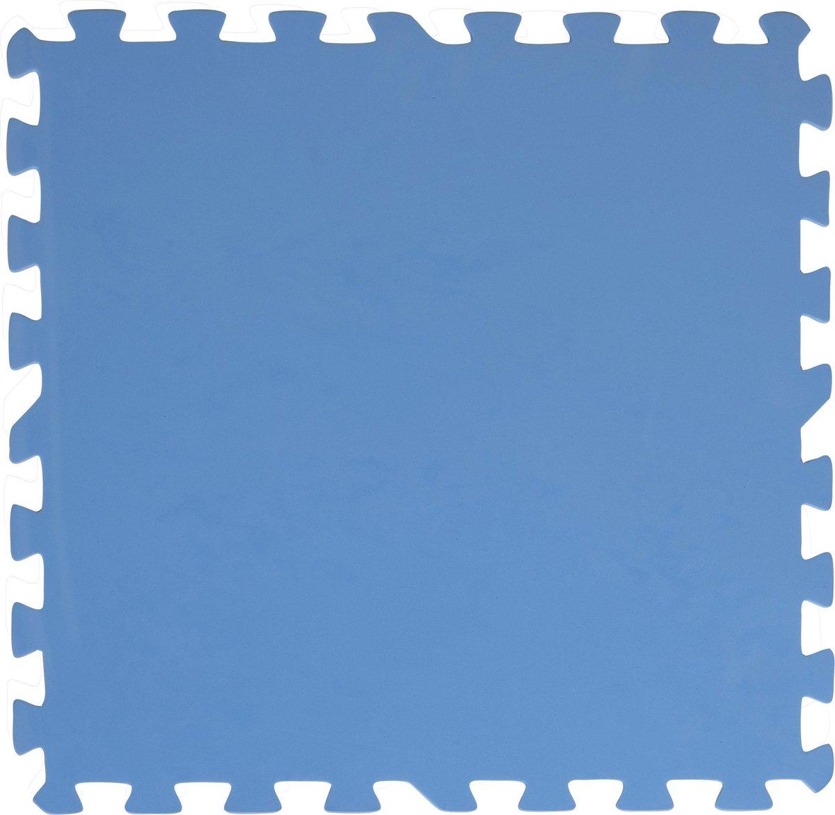 Creative Kids Zwembadtegels - Foam - 50x50 - 8 Stuks - 2m2 - Blauw