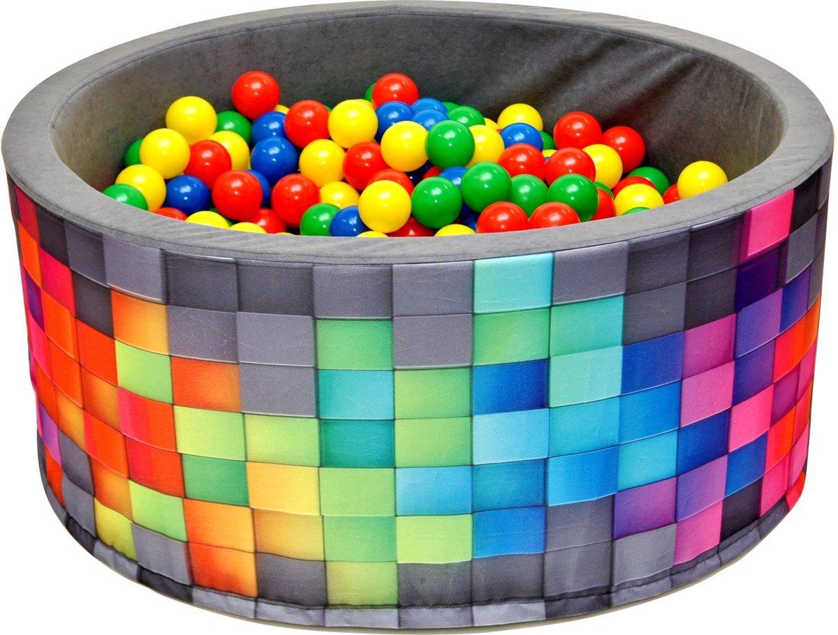 Ballenbak XL incl ballenbak ballen - Disco Zwart