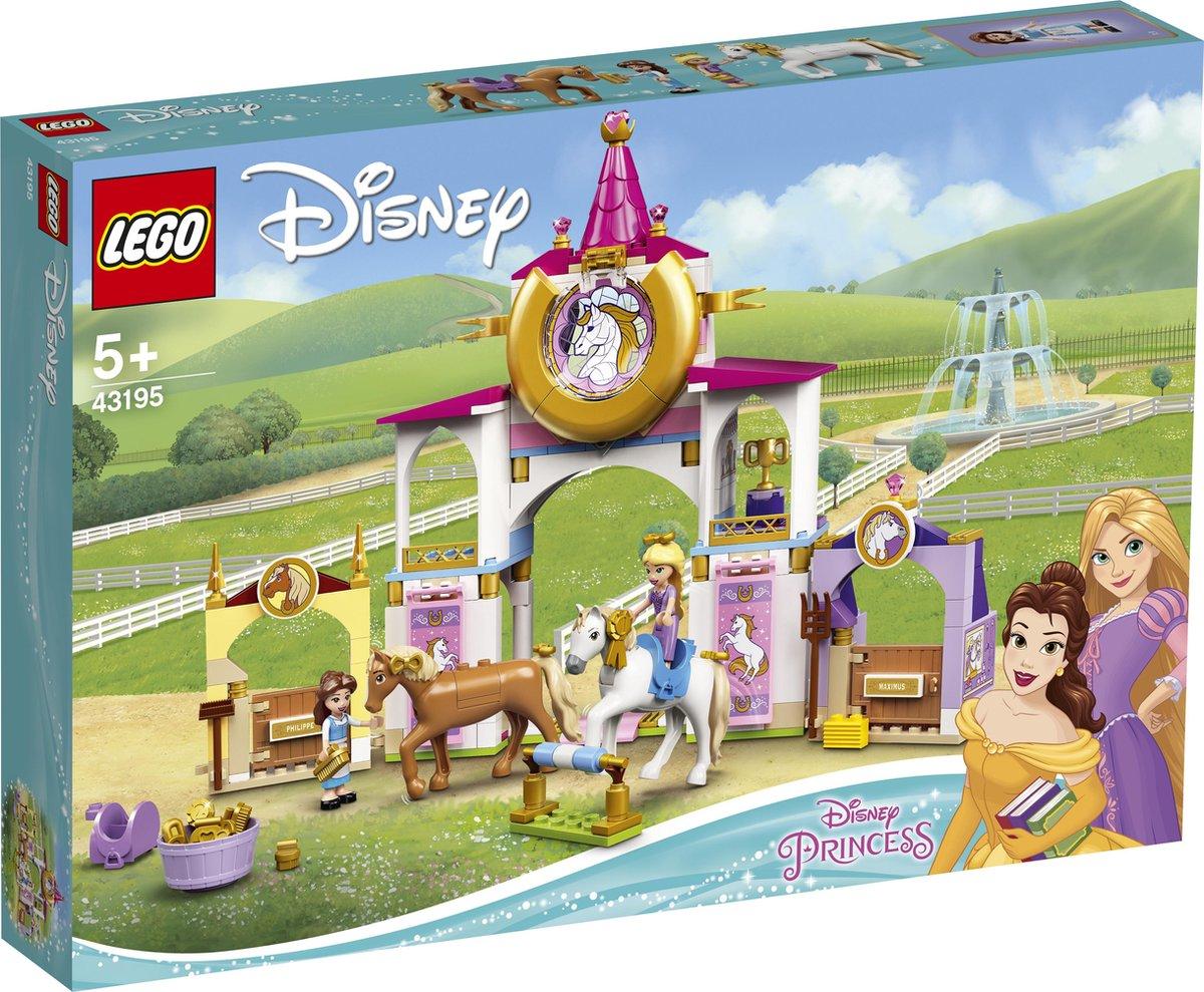 Lego Disney 43195 Belle en Rapunzel's koninklijke paardenstal