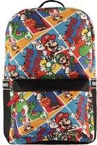 Nintendo - Super Mario - All Over Printed Rugzak - Multi