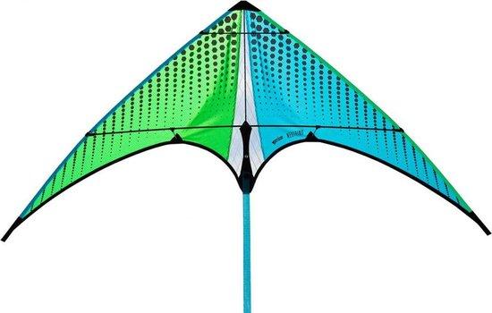 Regenboog Vlieger - 125 x 225 x 225 - Inclusief Opbergtas & Touw