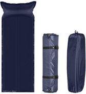 Zelfopblaasbare Slaapmat - 200x65x5 cm - Blauw