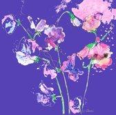 Set van 6 vierkante bloemenkaarten - kunstkaarten - Wenskaarten - Bloemen - Uniek - Bijzonder - Speciaal - Voor alle gelegenheden