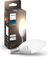 Philips Hue Kaarslamp Lichtbron E14 - White - 5,2W - Bluetooth