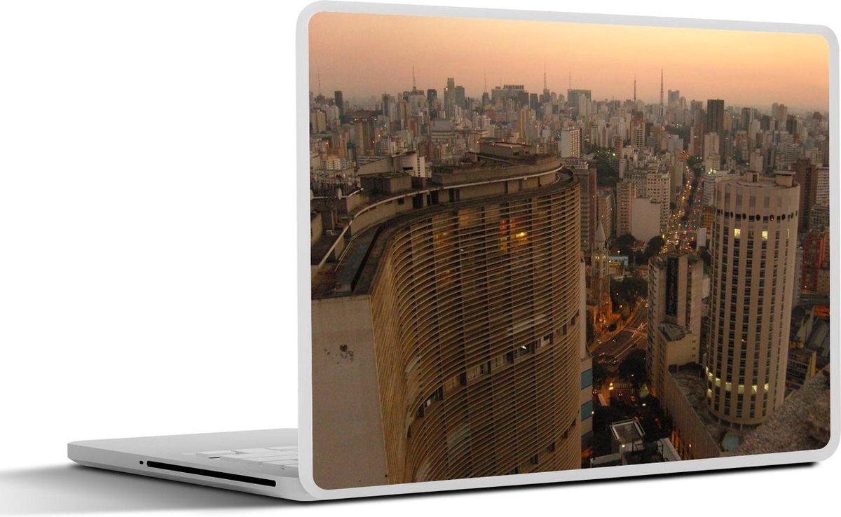 Laptop sticker - 12.3 inch - Het Zuid-Amerikaanse centrum van São Paulo in Brazilië