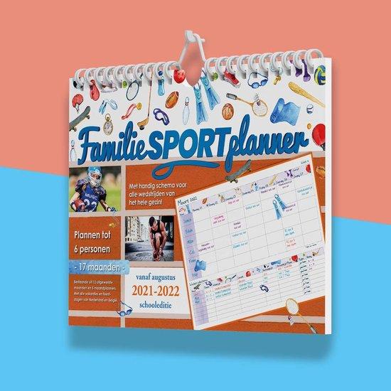 Afbeelding van Comello Planner - Familie Sportplanner 2021/ 2022