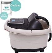 Soft&Silky® XL - massage voetenbad - Infrarood - Verwarmd - 12L - Voetmassage - Voetbad - Voetroller - voetenbad met massage