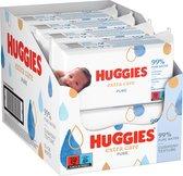 Huggies billendoekjes - Pure Extra Care - 448 doekjes