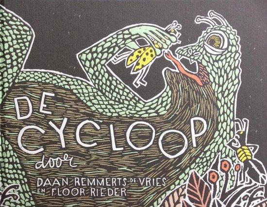 Boek cover De cycloop van Daan Remmerts de Vries (Hardcover)