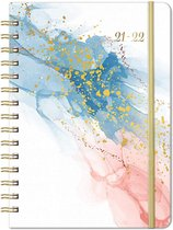 2021-2022 schoolagenda dagboek - Gouden Collectie Must Have - Week to View Planner Dagboek