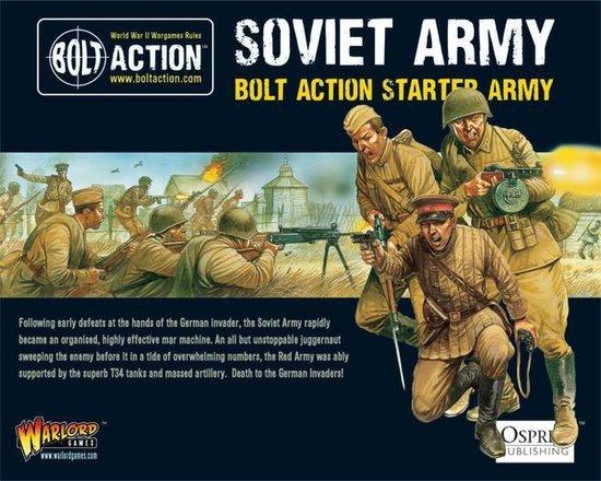 Afbeelding van het spel 1,000pt Soviet Army starter army