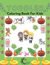 Toddler Coloring Book For Kids