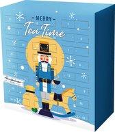 """Advent - Advent kalender Thee - Adventskalender Kerstcadeau - Kerstgeschenk """"Merry to Tea Time"""" - Losse thee - 24 verschillende smaken"""