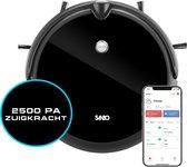 Sanbo® D-503 Pro Robotstofzuiger - dweilfunctie - Inclusief HD-Camera & App - Inclusief Laadstation - Dweilrobot