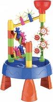Splash Watertafel -  zandtafel - kinderen - buitenspeelgoed - 23 delig - met waterrad