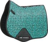 DW4Trading® Weatherbeeta paarden zadeldekje prime dressuur leopard turquoise full