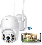 Beveilgingscamera - Wifi Smart - Waterdicht - IP66 - Draai- en kantelbaar - 1080P