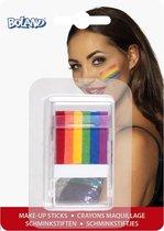 Boland - Schmink/Make-up - Make-up Stick Regenboog 6-in-1