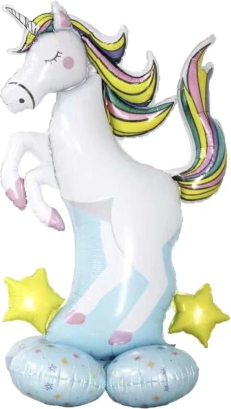 Unicorn ballon - Kind kado - Kinder cadeau - dieren ballon - Feest ballon - Grote eenhoorn ballon - Verrasing