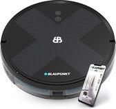 Blaupunkt Bluebot XVAC – BPK-VCBB1XVB – Cosmic Black – Robotstofzuiger met Gyroscoop navigatie voor nauwkeurige schoonmaak – Automatisch opladen –  App besturing