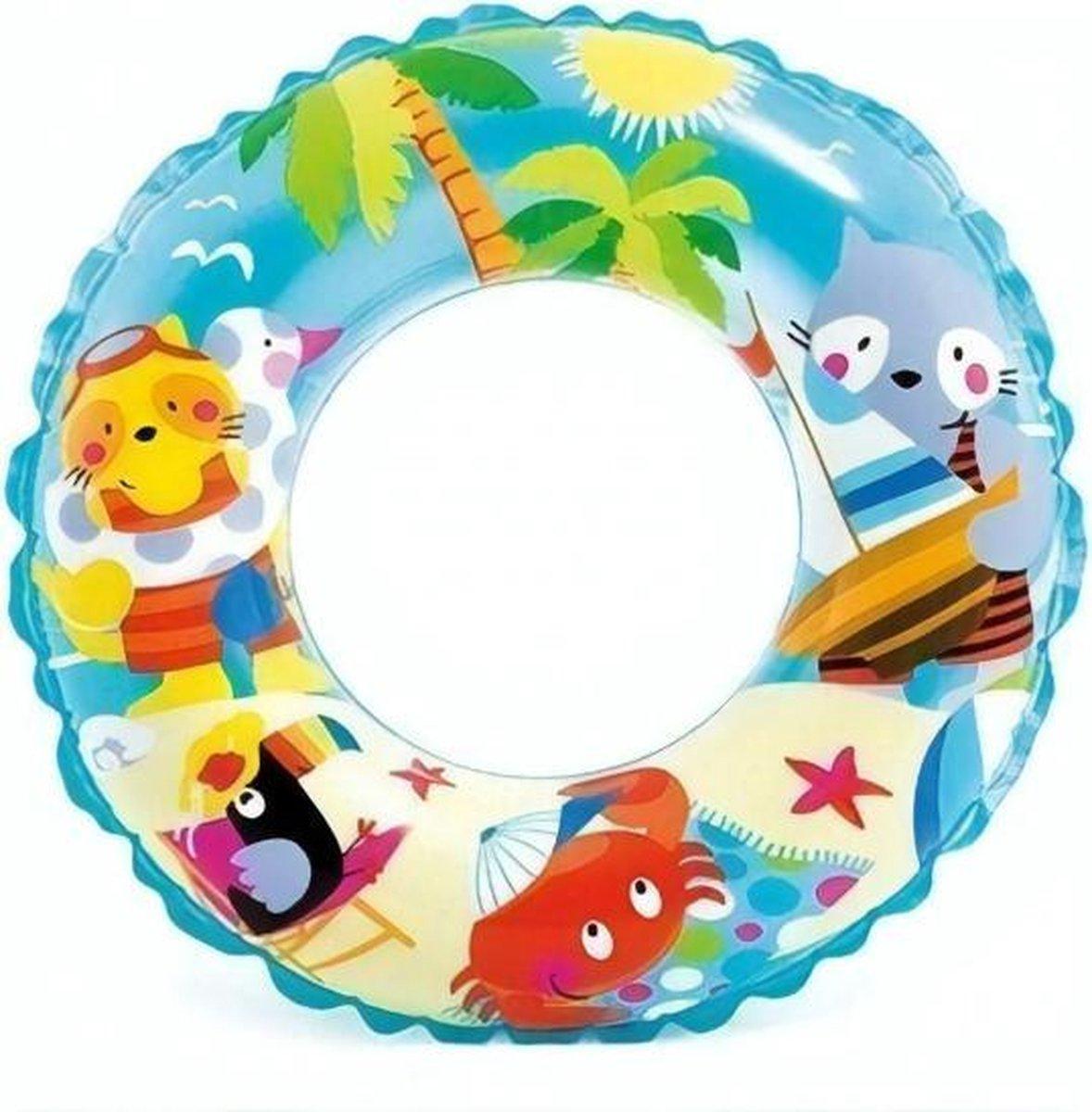 Intex Zwemband Junior 61 Cm Pvc Blauw