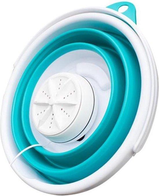 Superclean+ - Mini-inklapbare wasmachine - Mini wasmachine - Camping wasmachine - Vakantie - Kleding wasmachine - turbine