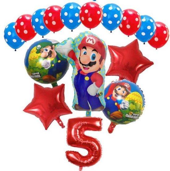 Super Mario - ballon set - thema - ballonnen - 5 jaar