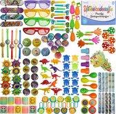 TwinQ® 145 x Traktatie Uitdeelcadeautjes voor Kinderen - Pinata Vulling - Grabbelton Weggeef Cadeautjes - Klein Speelgoed