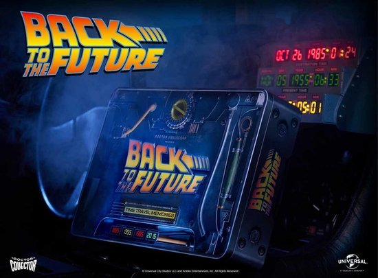 doctor collector Back to the Future: Time Travel Memories Kit