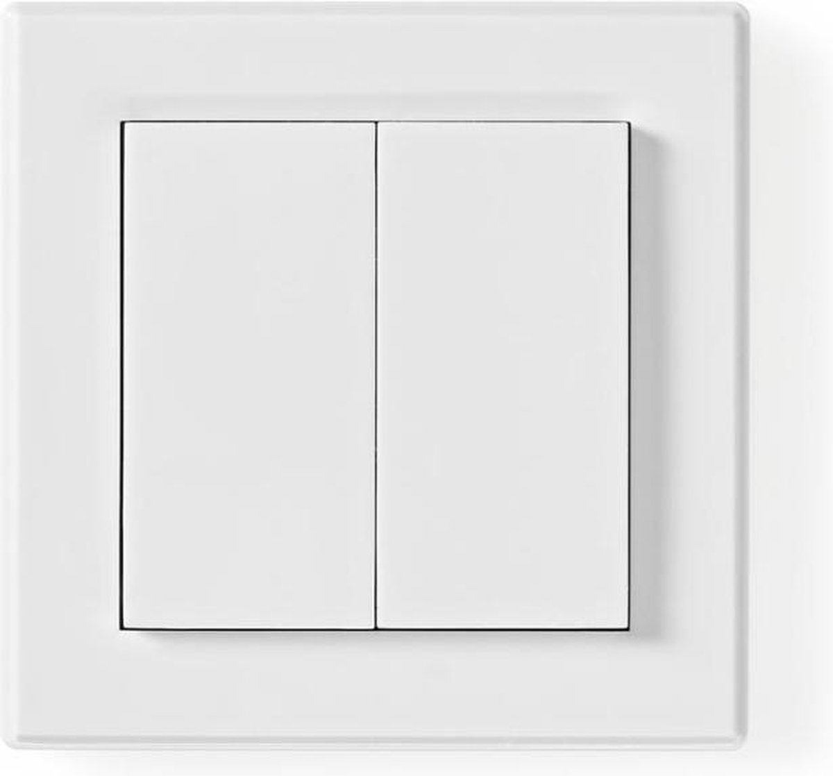 Nedis RFWS20WT Rf Smart Lichtschakelaar Tweevoudig