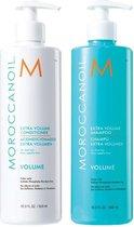 Moroccanoil - Extra Volume Shampoo & Conditioner (2x 500 ml.)