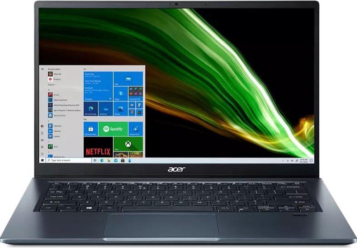 Acer Swift 3 SF314-511-56TT - Laptop - 14i - Core i5-1135G7 - 16GB - 512GB SSD - Iris Xe - Win10 Home blauw