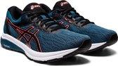 Asics GT-800 Sportschoenen - Maat 42.5 - Mannen - Blauw - Zwart - Rood