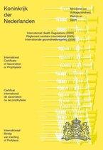 Officiële Vaccinatieboekje - Inentingsboekje ( gele boekje )