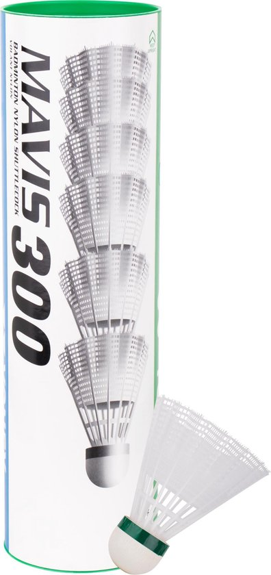 Yonex Mavis 300 - Badminton Shuttles - 6 Stuks - Wit
