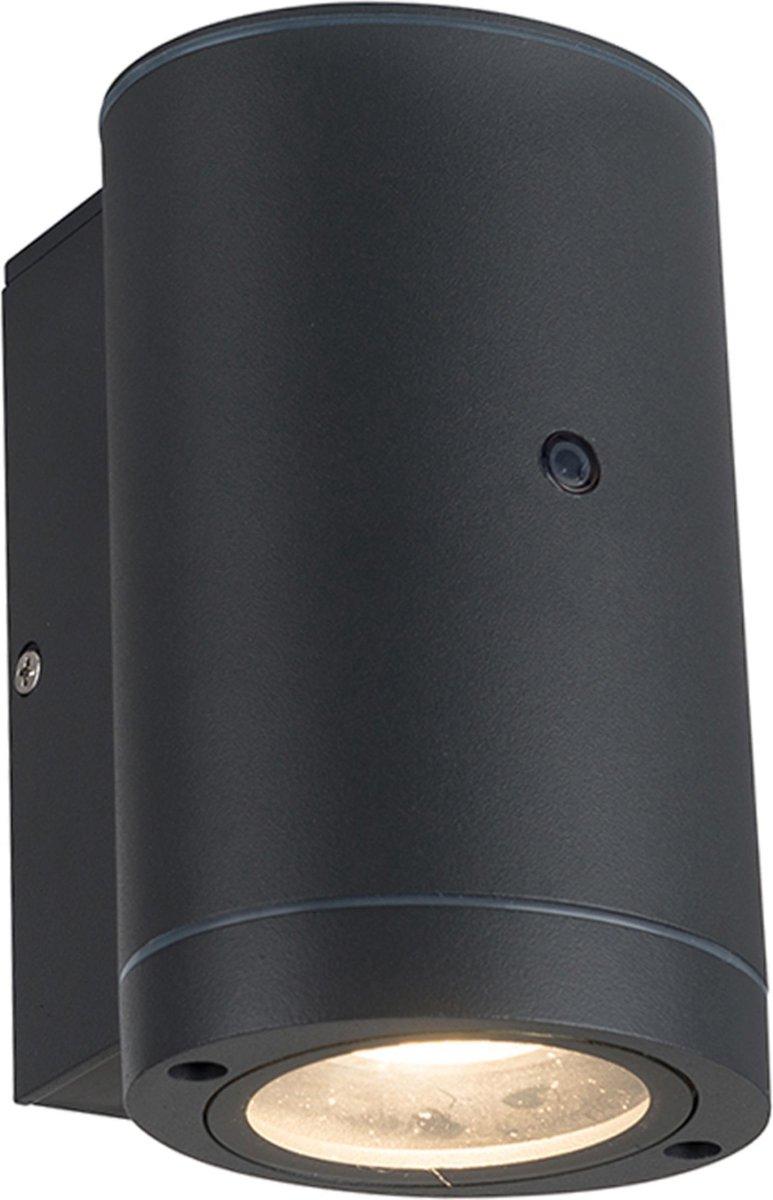 Proventa AllWeather Outdoor Wandlamp Spot met sensor - Antraciet