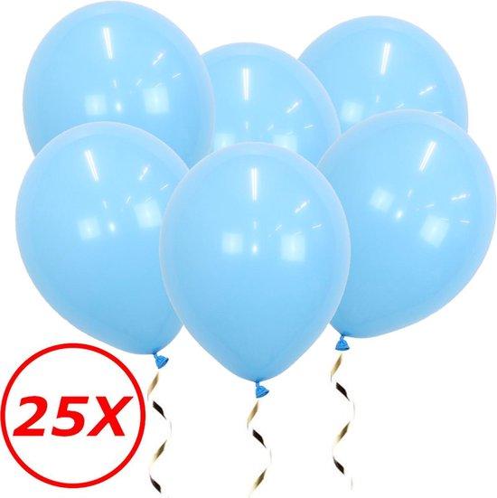 Lichtblauwe Ballonnen Gender Reveal Babyshower Versiering Verjaardag Versiering Blauwe Helium Ballonnen Feest Versiering 25 Stuks