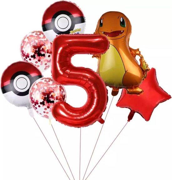 Pokemon Charmander  Ballonpakket Droom Thema Party Decoratie nummer 5