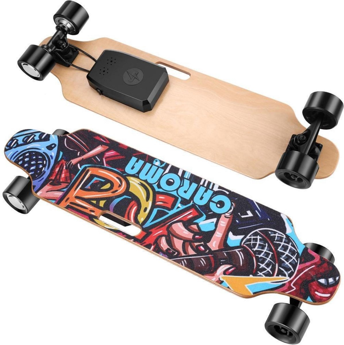 Elektrisch Longboard - Elektrisch Skateboard - Inclusief Controller - 25 km/u - 13km Bereik