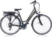 Villette le Bonheur elektrische fiets 50cm, 7 speed, dames, coal grey, 14Ah, LCD