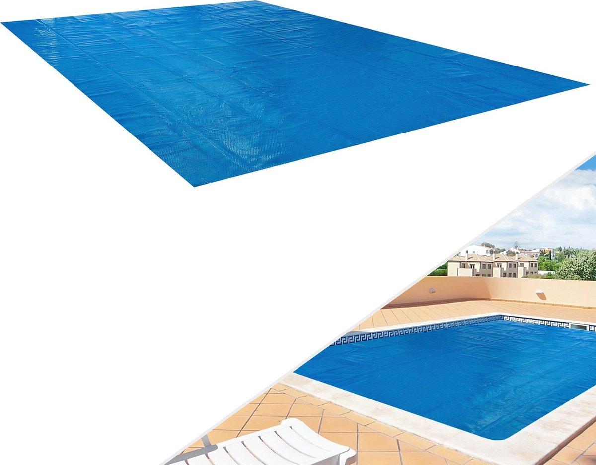 AREBOS | Zwembadafdekking | Zwembadverwarming | Zomerafdekking | Zonne-film | 8x5m