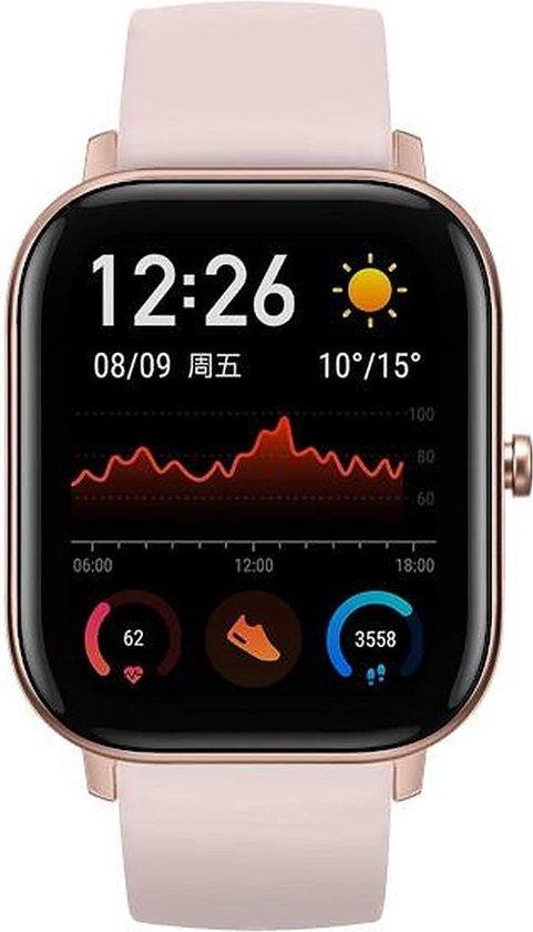 Xiaomi Amazfit GTS smartwatch - 42 mm - Roze