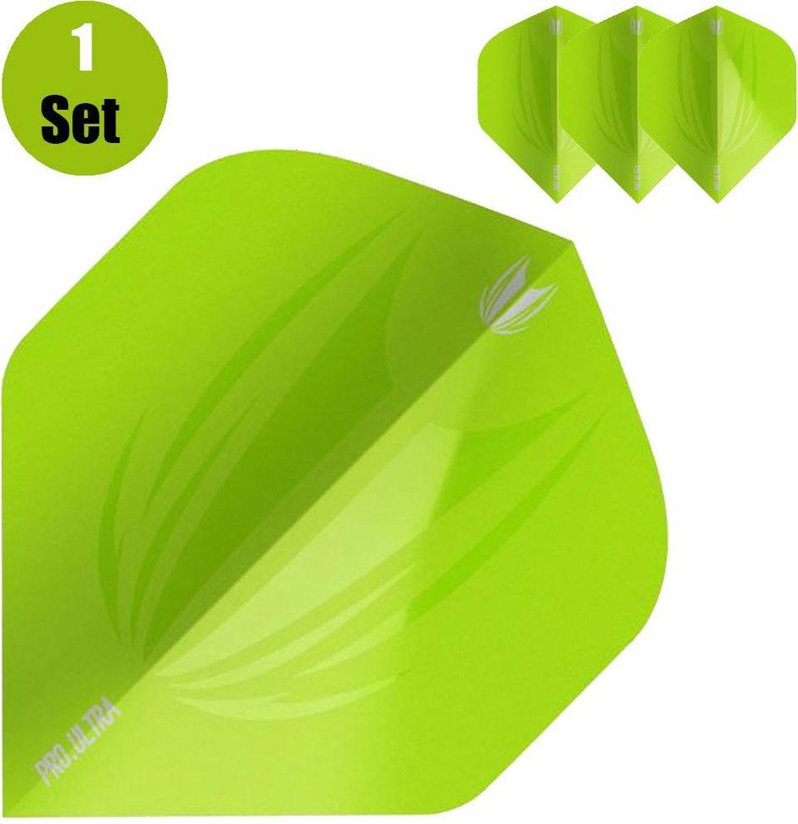 Target Element Dartflights - Groen- ()