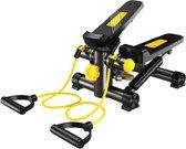 Sens Design Fitness Stepper - Mini stepper - Hometrainer - Zwart-Geel