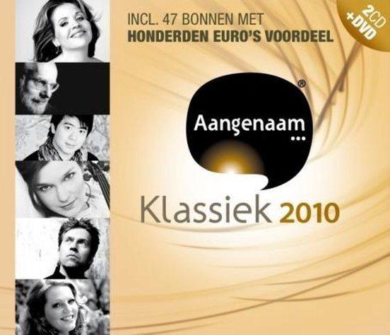 CD cover van Aangenaam Klassiek 2010 van Aangenaam Klassiek