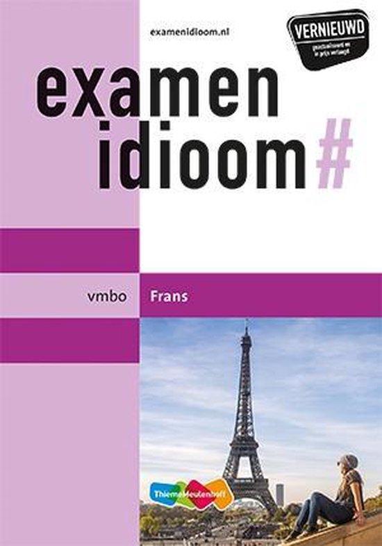 Examenidioom vmbo Frans - Vincent van Dekken | Readingchampions.org.uk