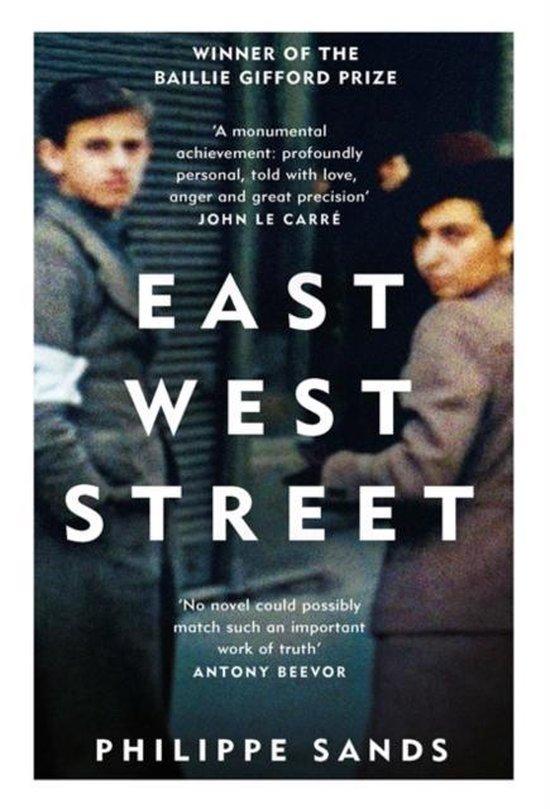 Boek cover East West Street van Philippe Sands (Paperback)