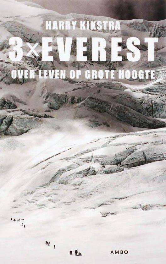 Cover van het boek '3x Everest' van H. Kikstra